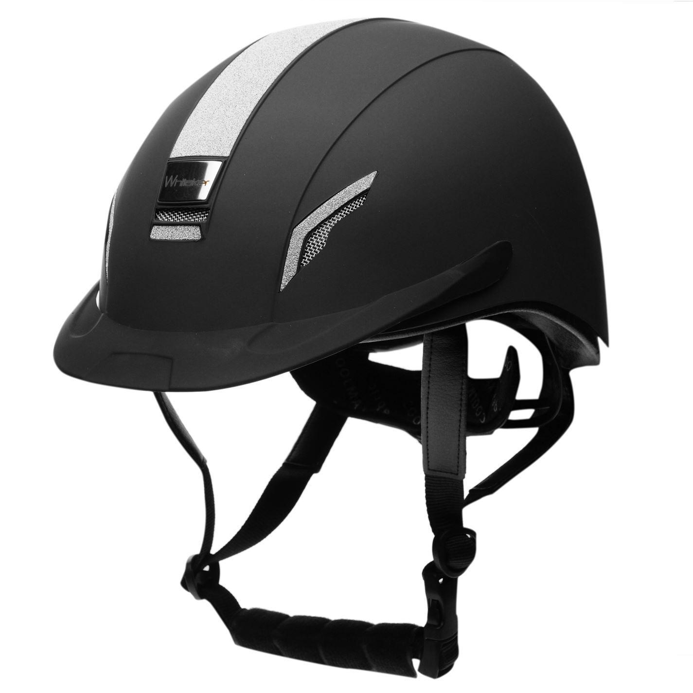 John Whitaker Unisex VX2 Brillo Casco Equitación Sombrero ligero de competencia