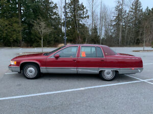 1993 Cadillac Fleetwood Brougham Gold Edition