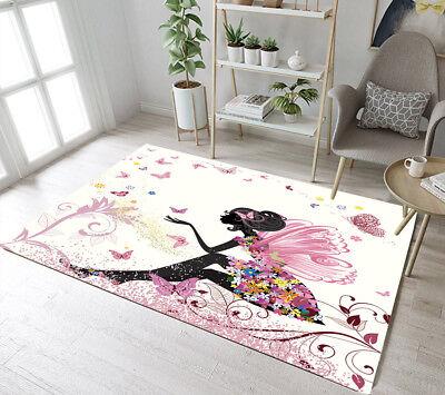 Green Fir Trees Forest Living Room Kids Carpet Floor Yoga Mat Home Area Rugs