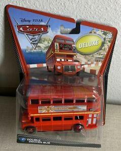 CARS 2 DOUBLE DECKER BUS DELUXE DISNEY PIXAR   eBay
