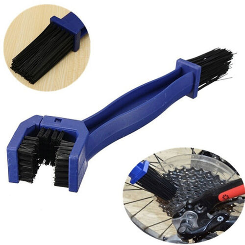 Bicycle Motorcycle Cycling Gear Chain Wheel Grunge Brush Cleaning Tool  KS