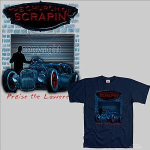 T-shirt-Lowrider-Hot-Rod-Kustom-jumpcar-VINTAGE-CAR-Oldtimer-rockablly-1104