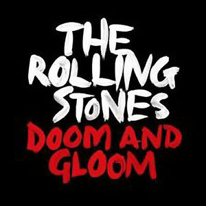 Rolling-Stones-Doom-amp-Gloom-NEW-MINT-Ltd-edition-one-sided-etched-10-034-single