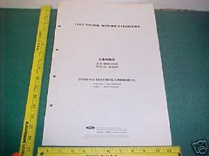 1989 ford cargo truck tractor wiring diagrams manual ebay. Black Bedroom Furniture Sets. Home Design Ideas