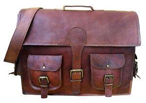 Leather-Messenger-Shoulder-Business-Carryon-Work-Briefcase-Laptop-Bags-Women-Bag