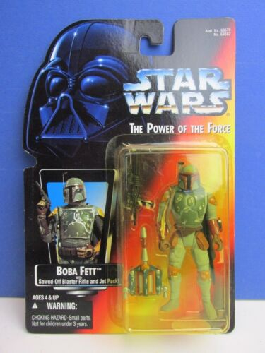 star wars POWER OF THE FORCE potf 2 RED CARD action figure 1995 kenner VINTAGE