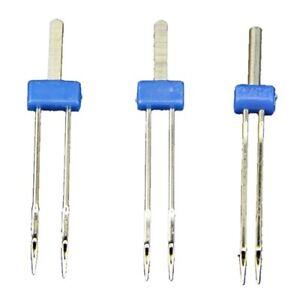 3X(3 x Pines agujas gemelas doble Maquina de coser Tamano 2.0 / 90,3.0 / 90 R4C1
