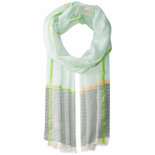 Beach Glass, One Size Echo New York Womens Off The Grid Cotton Wrap