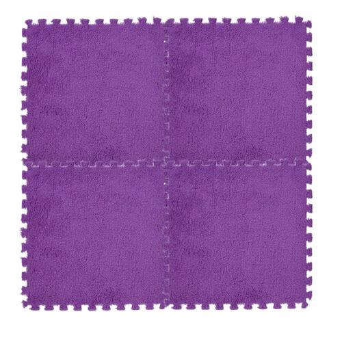 Kids Carpet Mat Foam Puzzle Mat EVA Shaggy Velvet Baby Eco Floor Stitching Mat I