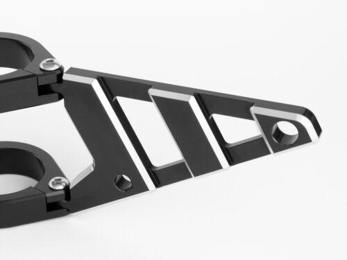 Motorbike Headlight Brackets 44-45mm CNC Billet Aluminium HIGH QUALITY