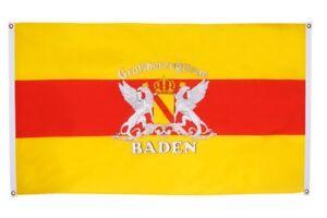 Balcon drapeau balcon Drapeau Allemagne Grand-Duché de Baden Drapeau Drapeau pour le BA-afficher le titre d`origine GQI3NBPC-07190830-226169873