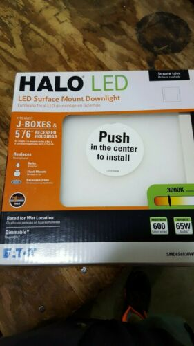 HALO LED SURFACE MOUNT DOWNLIGHT SMD6S6930WH