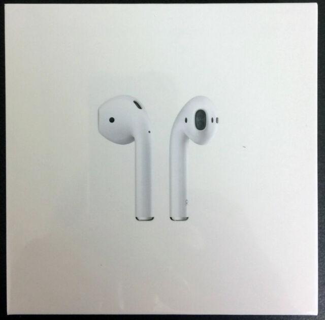 Neu Apple Airpods - Weiß MMEF2AM/A Echt Einzelhandelverpackung Versiegelt.