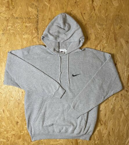 Vintage 90s / Nike Center Swoosh Hoodie / Mini Swo