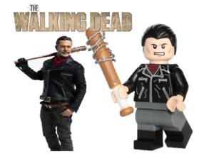 LEGO NEW WALKING DEAD TV SERIES NEGAN MINIFIGURE FIGURE USA SELLER