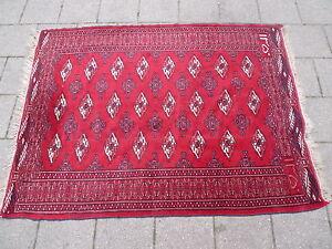 Belle, Vieux Tapis Oriental__140cm X 106cm__ Signé _ ! Utilisation Durable