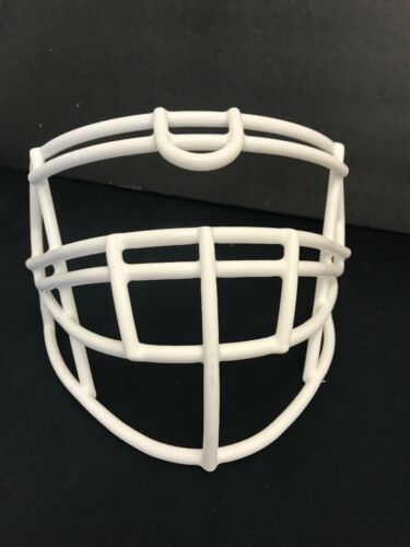 Riddell SPEED S3BDU-SP Adult Football Facemask In WHITE.