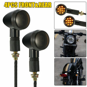 4Pcs-Retro-Black-Motorcycle-Turn-Signal-Indicator-Bullet-Blinkers-Lights-Amber