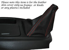 RED STITCHING LEATHER MANUAL GEAR GAITER FITS HYUNDAI I LOAD 2008-2014