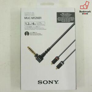 New-SONY-MUC-M12NB1-Balance-Plug-1-2m-Replacement-Cable-XBA-Series-w-Tracking