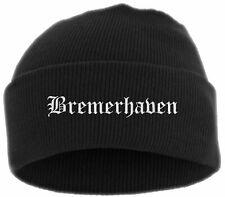 Cologne Beanie Mütze Bestickt Altdeutsch Strickmütze Wintermütze