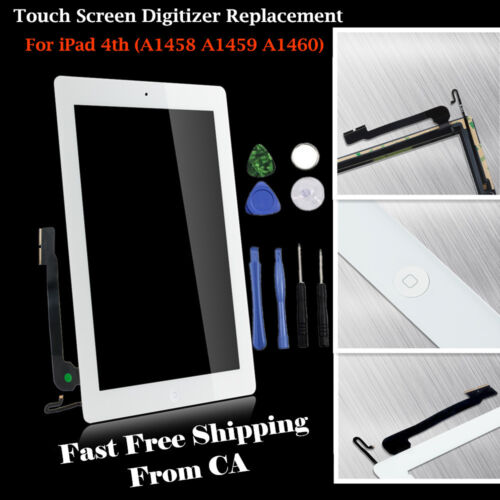 Touch Screen Digitizer Replacement For iPad 2 3 4 iPad Air 1// iPad mini 1//2