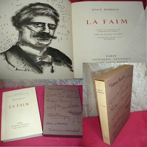 LA-FAIM-Knut-Hamsun-Lithographie-originale-de-Vlaminck