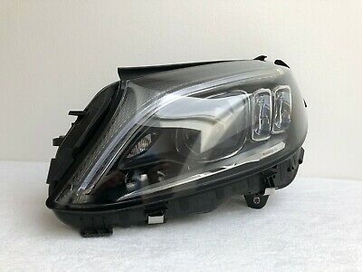 Mercedes Benz C-klasse W205 MOPF Voll Led Scheinwerfer Links Original