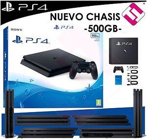 VIDEOCONSOLA SONY PS4 PLAYSTATION 4 SLIM 500GB NUEVO CHASIS TOP VENTA PENINSULA
