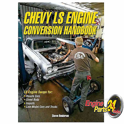 HOLDEN CHEV LS1 LS2 LS3 GEN 3 BOOK ENGINE SWAP CONVERSION HANDBOOK HP1566