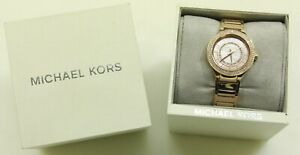 f760fe57d7d0 Michael Kors MK3802 Mini Kerry Rose Gold-Tone Stainless Steel Ladies ...