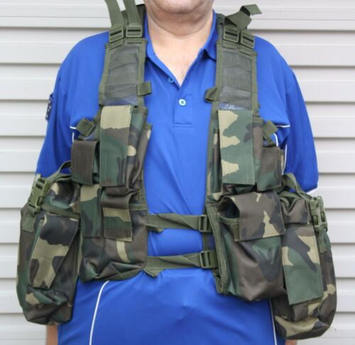 M83 VEST SOUTH AFRICAN STYLE CADETS TACTICAL SECURITY COSPLAY CAMO