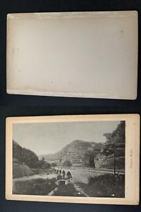 Deutschland-Ahrtal-Bunthe-Kuh-Vintage-print-carte-cabinet-Photomecanique
