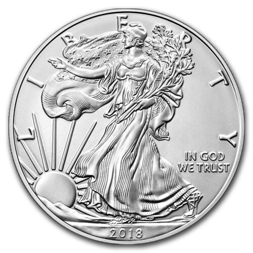Early Releases SKU#153444 2018-W Burnished Silver Eagle MS-70 NGC