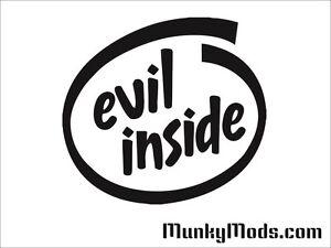 Evil-Inside-Logo-Computer-PC-Case-Window-Applique-Vinyl-Decal-Color-Choices
