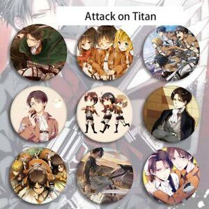 Attack-on-Titan-Shingeki-no-Kyojin-Captain-Levi-Brooch-Badge-Button-Lssed-W1K2