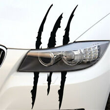 Monster Claw Scratch Decal Car Headlight Decorative Sticker Car Accessories Fits 2009 Hyundai Santa Fe