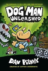 Dog-Man-2-Unleashed-by-Dav-Pilkey-NEW-Book-FREE-amp-Fast-Delivery-Paperback