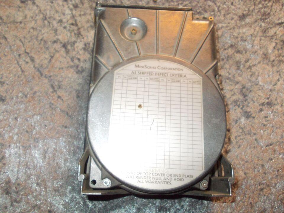 Andre samleobjekter, 20 MB Harddisk MFM