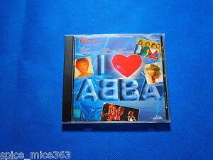 ABBA I Love Abba 1984 POLYSTAR CD FULL SILVER W. GERMANY Frida Agnetha Faltskog - Wroclaw, Polska - ABBA I Love Abba 1984 POLYSTAR CD FULL SILVER W. GERMANY Frida Agnetha Faltskog - Wroclaw, Polska