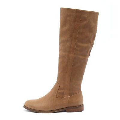 New Django & Juliette Yarari Tan Womens Shoes Casual Boots Long