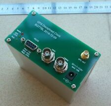 GPS DISCiPLINED CLOCK Uhr GPSDO 10MHz 10M OUTPUT SQUARE WAVE RS232 GPS NMEA