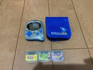 Pokemon-mini-Console-and-3-Games-and-Original-Case-Set