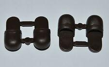 21399 Zapatos marrón oscuro 2 pares playmobil,victoriano,medieval,shoes