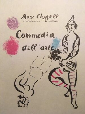 ceramiques Poster,Offset Lithograph,Vintage 1966. Marc Chagall,Galerie Madoura