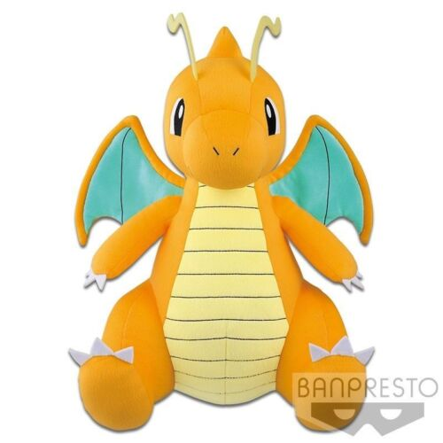 Pokemon Sun Moon Dragonite Stuffed Dragonite Kairyu Character Huge Plush Toreba