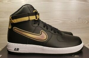 Details about Nike Air Force 1 High 07 LV8 Sport AF1 NBA Black Gold Fashion  AV3938-001 Pick Sz