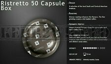 Nespresso Ristretto Pro Coffee 50 Commercial Capsule Box Fresh