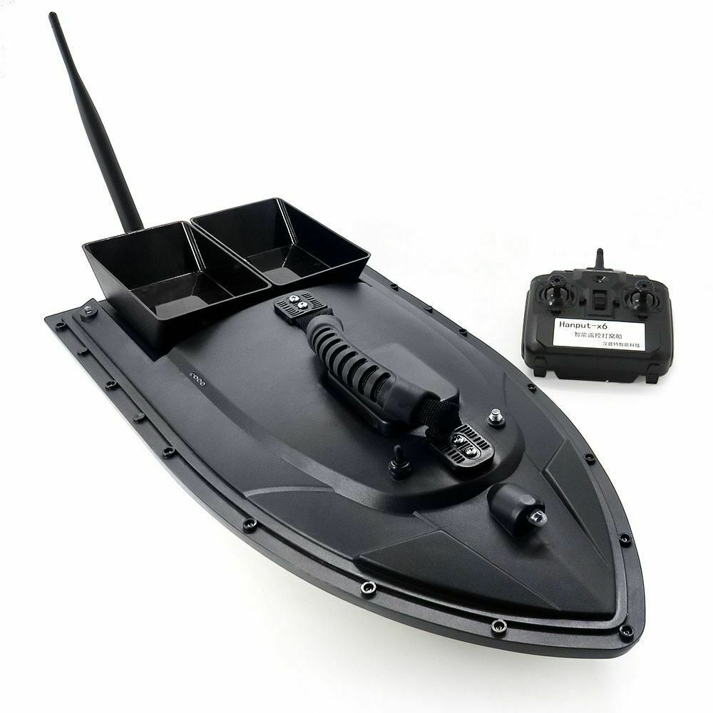 Smart RC Bait Boat Fishing Tool Toy Dual Motor Fish Finder Fish Boat Remote Carp