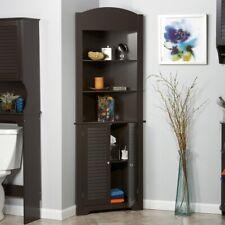 Bathroom Cabinet Corner Linen Storage Cabinets Laundry Bed ...
